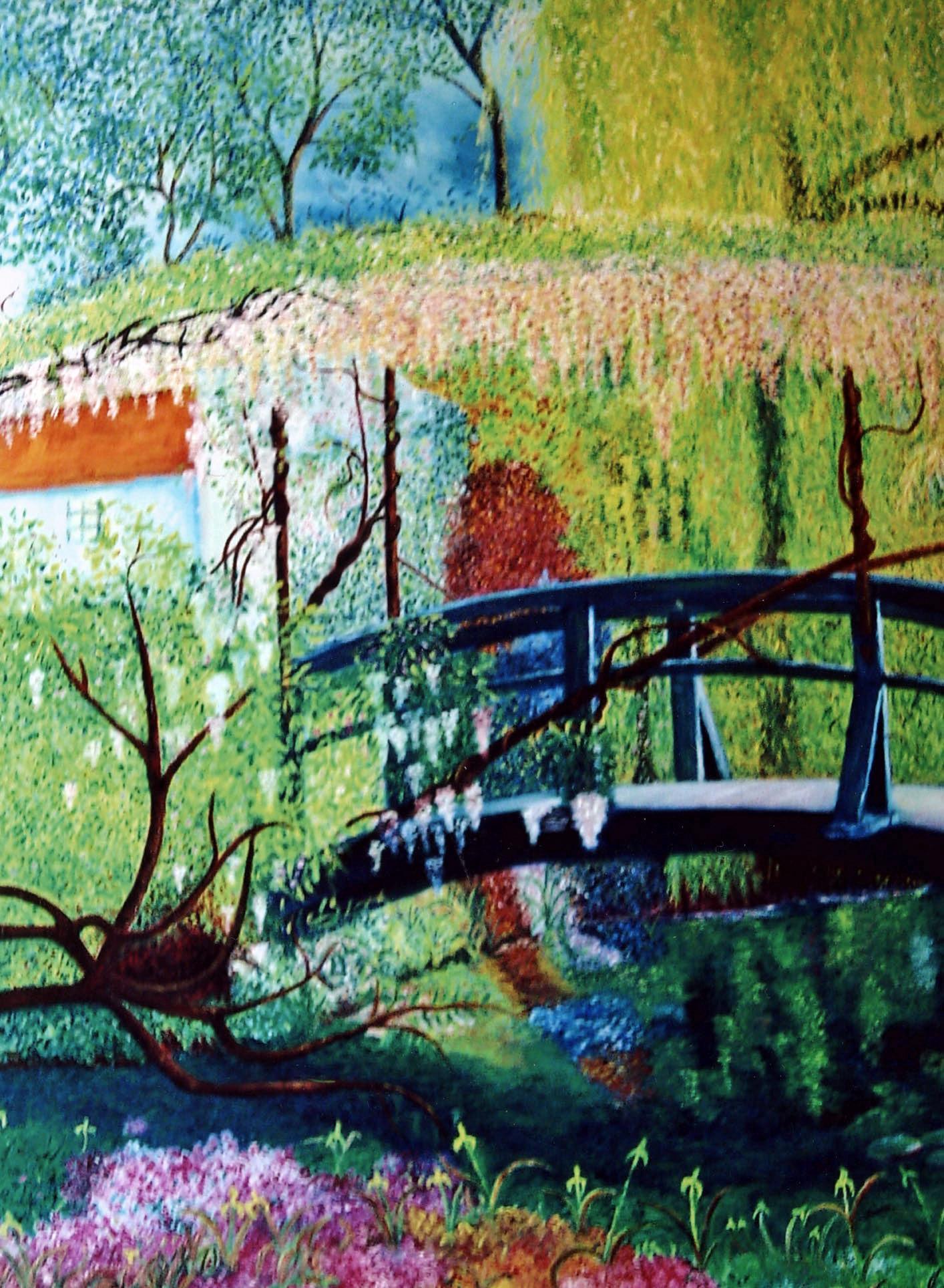 le pont aux glycines