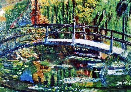 Le pont japonnais, Giverny