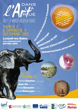 Affiche festival de Luxeuil
