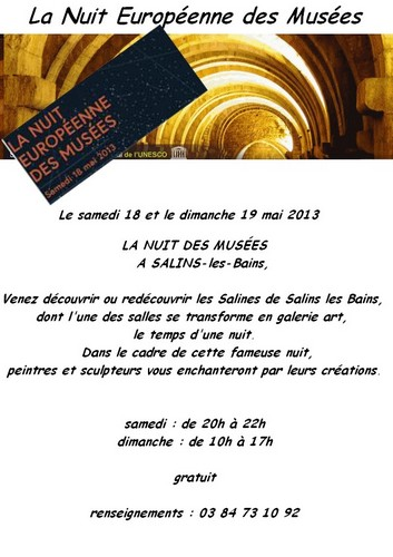 Affiche Salin-les-Bains