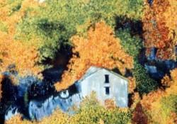 Maison dans la colline
